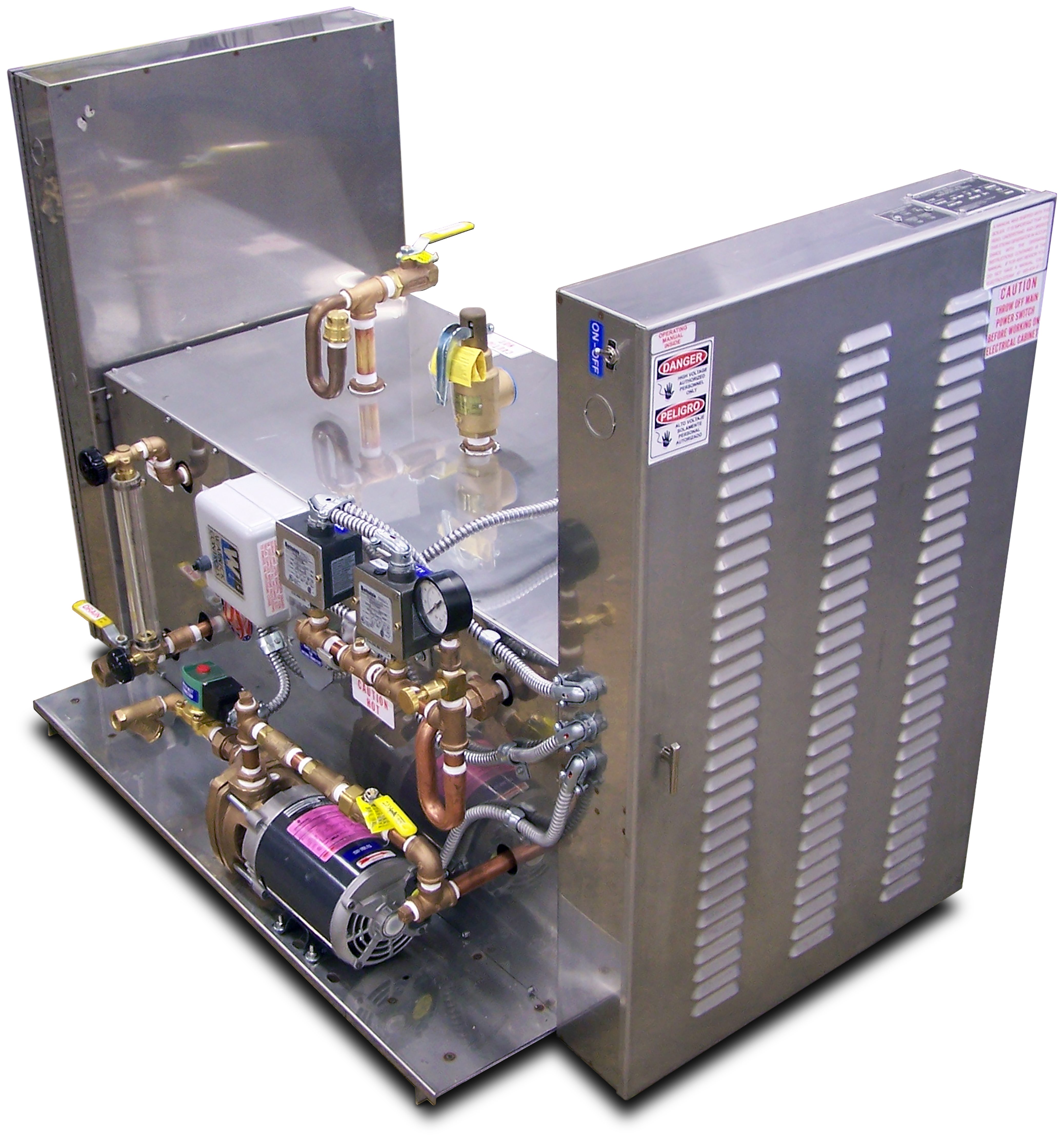 LB 100 240 Electric Steam Generators ElectroSteam Generator Corp
