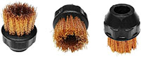 EAG00009, 1 Inch (in) Circular Bronze Brush